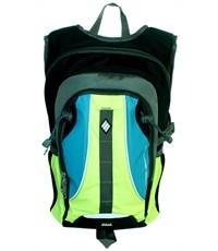 Фото 2. Молодежный спортивный рюкзак Ufo people с желтыми вставками