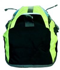 Фото 5. Молодежный спортивный рюкзак Ufo people с желтыми вставками