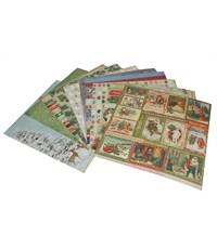 Набор бумаги для скрапбукинга, 10 листов, Tz-12996 Tukzar