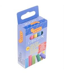 Набор цветного мела JOVI, круглый, 10цв., картонная коробка, европодвес