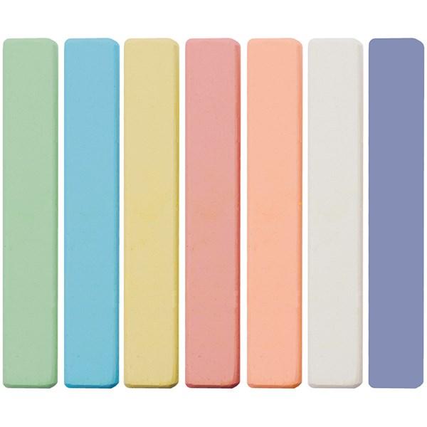 """Набор цветного мела Мульти-Пульти """"Енот в Австралии"""", 7цв., картонная коробка, европодвес"""