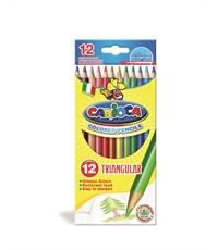 Набор цветных карандашей CARIOCA 12 цв. трехгранные