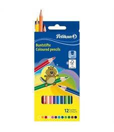 Набор цветных карандашей Pelikan 12 цветов