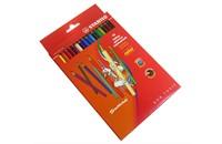 Набор цветных карандашей Stabilo, 18 цв., картон. упаковка