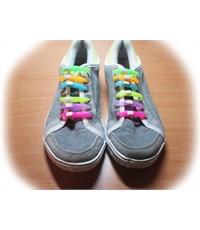 Фото 3. Набор цветных резиновых шнурков, 6 штук