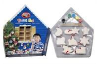 """Набор для  раскрашивания """"Елочные украшения в домике"""" 8 игрушек 021925"""
