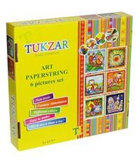 Фото 2. Набор для аппликаций из бумажных шнурочков Tukzar Tz-12757