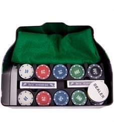 """Фото 2. Набор для игры в """"Покер"""", (200 фишек, 2 колоды карт, сукно), коробка"""