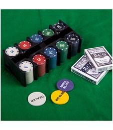 """Фото 3. Набор для игры в """"Покер"""", (200 фишек, 2 колоды карт, сукно), коробка"""