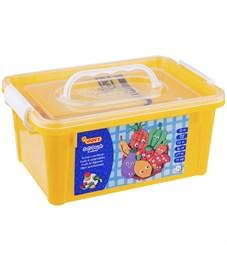 """Набор для лепки JOVI """"Огород"""" 05 цветов*50гр, аксессуары, пластиковый контейнер"""