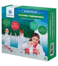 """Фото 1. Набор для опытов Intellectico """"Юный физик. Основы гидравлики"""", картонная коробка"""
