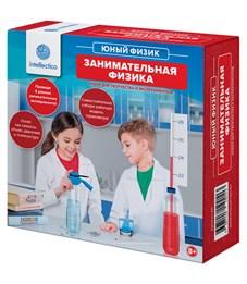 """Набор для опытов Intellectico """"Юный физик. Занимательна физика"""", картонная коробка"""