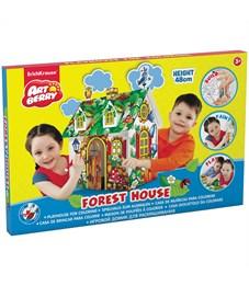 """Набор для рисования ArtBerry """"Forest house"""", игровой домик, картонная коробка"""