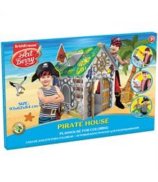 """Набор для рисования ArtBerry """"Pirate house"""", большой игровой домик, картонная коробка"""