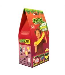 """Набор для создания слайма Slime """"Лаборатория"""", для девочек, желтый, 100г"""
