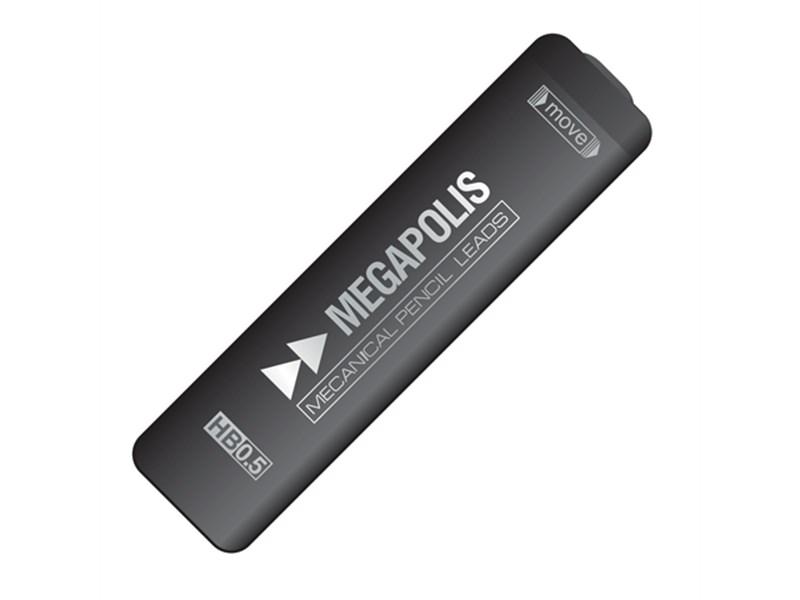 Набор 20 грифелей Erich Krause Megapolis для механических карандашей,  0.5 мм, 2 шт. в блистере
