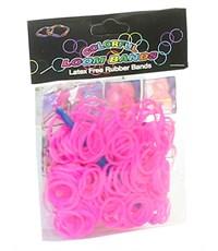 Фото 1. Набор резинок для плетения Loom Bands 200 розовый