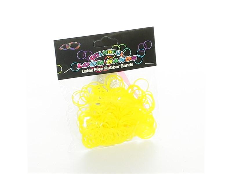 Набор резинок для плетения Loom Bands 200 желтые