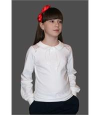 Блузка школьная Mattiel D058-31 белый