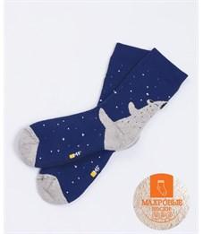 Носки детские махровые Mark Formelle 500K-437 синий Медведь