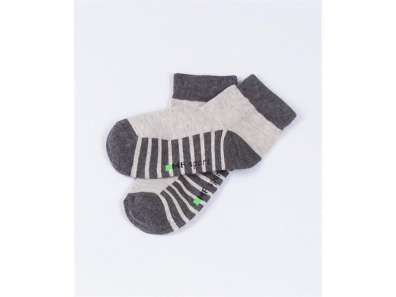 Носки детские Mark Formelle 404C-314 тёмно-серый меланж