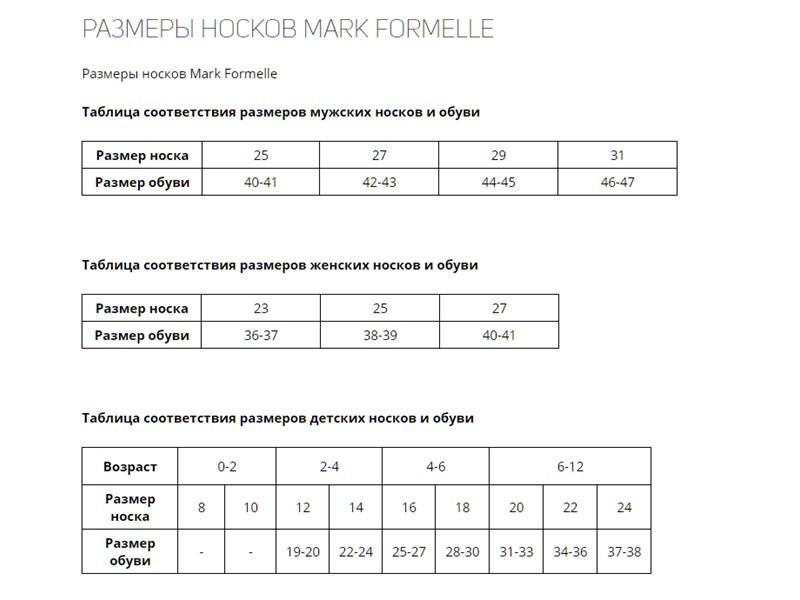 Носки мужские Mark Formelle 001K-000 чёрные
