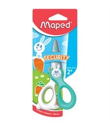 """Ножницы детские Maped """"Kidi Cut"""" 12см, лезвия из стекловолокна, европодвес"""
