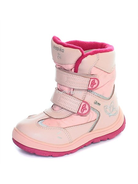 Сапожки Kapika для девочки розовые