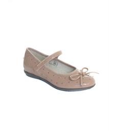 Туфли Капика для девочки бежевый