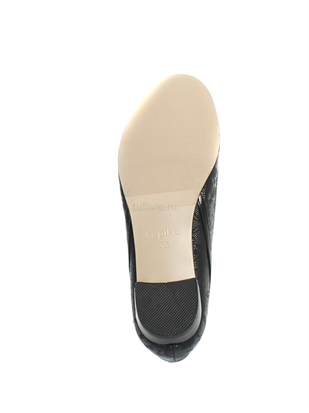 Туфли Капика  для девочки чёрные