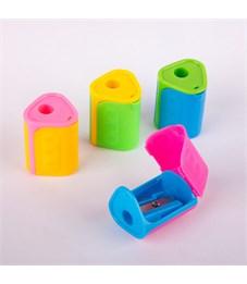 Фото 3. Точилка пластиковая ArtSpace, 1 отверстие, контейнер, ассорти