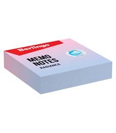 """Блок для записи декоративный на склейке Berlingo """"Radiance"""", 8,5*8,5*2, голубой-розовый, 220л."""
