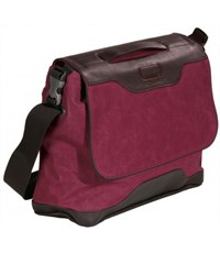 Фото 2. Молодежная сумка через плечо Quer IV Q23 для учебы бордовая