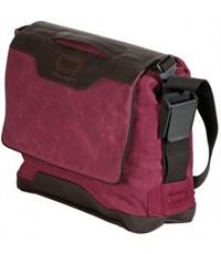 Фото 3. Молодежная сумка через плечо Quer IV Q23 для учебы бордовая