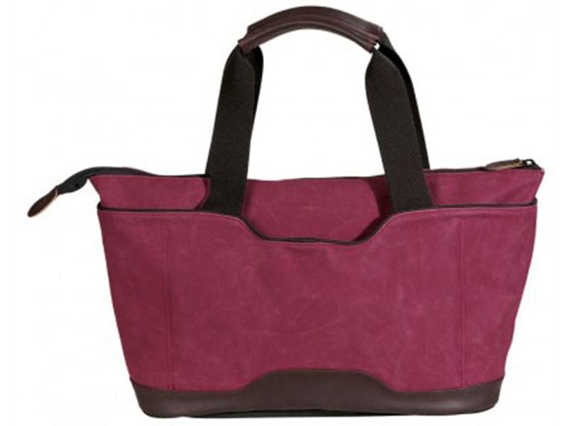 Молодежная сумка для отдыха Quer Q18 красная КОЖА+ТЕКС 882600-788