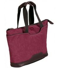 Фото 2. Молодежная сумка для отдыха Quer Q18 красная КОЖА+ТЕКС 882600-788
