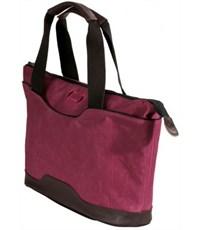Фото 3. Молодежная сумка для отдыха Quer Q18 красная КОЖА+ТЕКС 882600-788