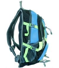 Фото 4. Молодежный спортивный рюкзак Ufo people с синими вставками