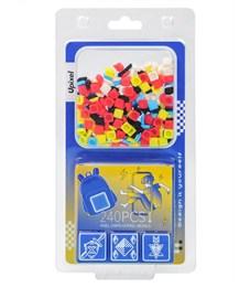 Комплект пикселей собери любую из 9 картинок на рюкзак T-U01 240шт