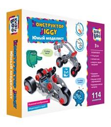 """Конструктор пластиковый Kribly Boo """"Jiggy. Юный моделист"""", с отверткой и ключом, 114 элементов"""
