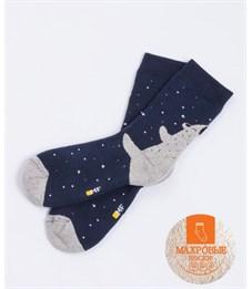 Носки детские махровые Mark Formelle 500K-437 тёмно-синий Медведь