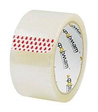 Упаковочная лента 72 мм х 57 м, 45 мкм, прозрачная