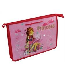 Папка для труда, А4, Оникс Принцесса с подарками