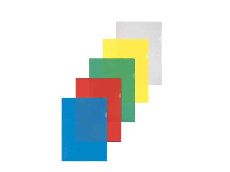 Папка-уголок inФОРМАТ A4 пластик 150 мк, прозрачная