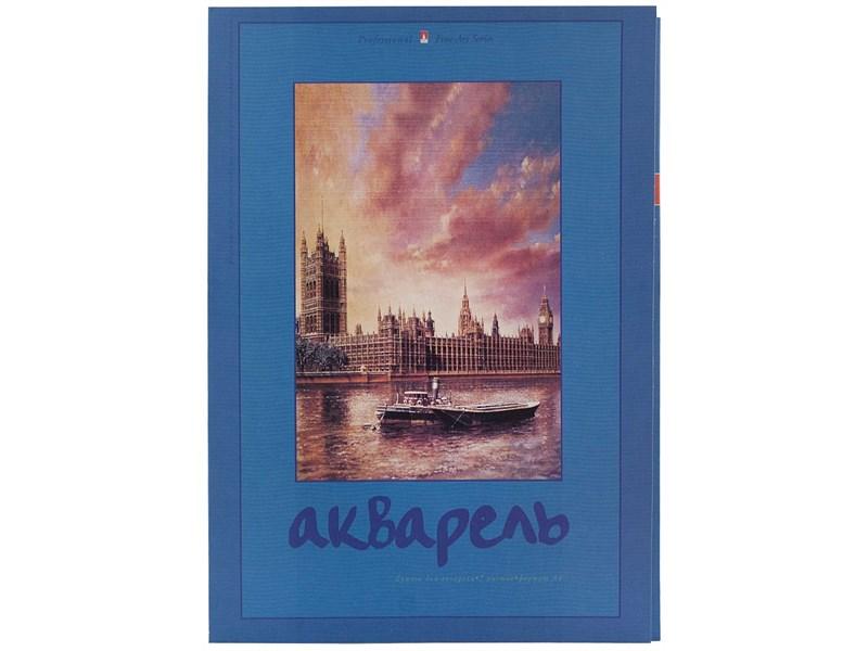 Папка для акварели 4-074, А4, 7 листов