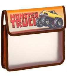 """Папка для тетрадей 1 отделение, ArtSpace """"Monster truck"""", А5, пластик, на липучке"""