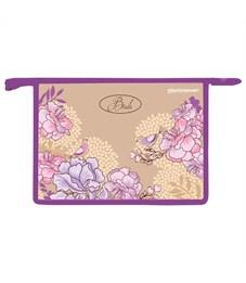 Папка для тетрадей, А4, Фиолетовые птицы