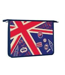 Папка для тетрадей пластиковая Hatber Британский флаг А4