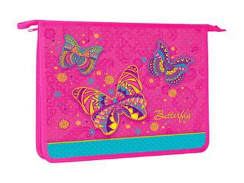 Папка для тетрадей пластиковая Hatber Butterfly А5