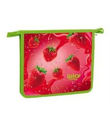 Папка для тетрадей пластиковая Hatber Juicy Berry А5
